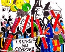 «La Marche des Crayons», clip lanceur d'alerte contre l'oubli : plus de 120 000 vues YouTube / Facebook